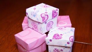 getlinkyoutube.com-Как сделать коробочку из бумаги своими руками ОРИГАМИ Origami Box