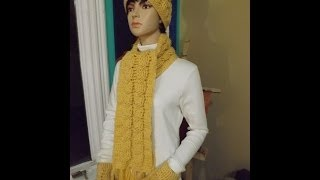 getlinkyoutube.com-Crochet bufanda de trenzas - con Ruby Stedman