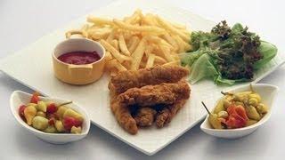 getlinkyoutube.com-أصابع الدجاج المقرمشة - مطبخ منال العالم