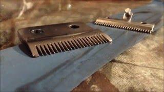 getlinkyoutube.com-Как точить ножи машинки для стрижки?