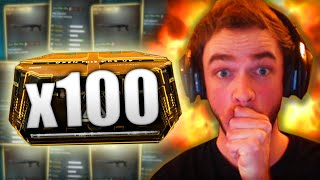 x100 ADVANCED SUPPLY DROPS - EPIC OPENING!