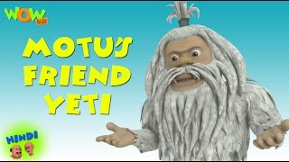 Motu's Friend Yeti   Motu Patlu In Hindi WITH ENGLISH, SPANISH & FRENCH SUBTITLES