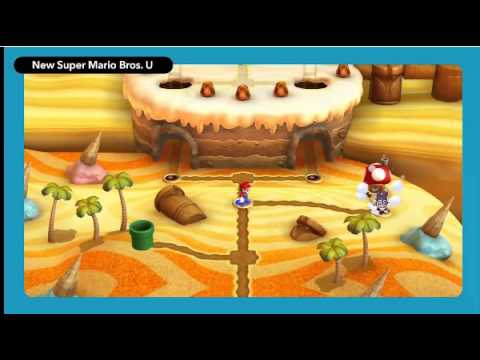 New Super Luigi U - Nintendo Direct Wii U Gameplay Footage (Part 1)