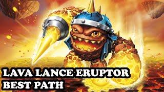 getlinkyoutube.com-Skylanders Superchargers - Lava Lance Eruptor - Eruption Ruffian Path - BEST PATH - GAMEPLAY