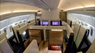 Etihad Airways Boeing 787-9 Dreamliner Inaugural Flight from Abu Dhabi to Dusseldorf in First Class