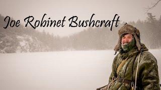 getlinkyoutube.com-5 Day Winter Snowshoe Bushcraft Camp