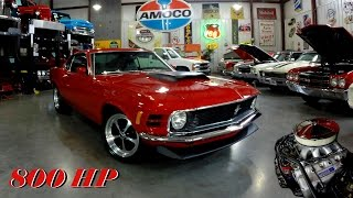 getlinkyoutube.com-800 HP 1970 Ford Mustang Fastback 545 CI Boss 429 V8