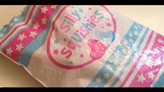 getlinkyoutube.com-Silly Squishies package opening!!