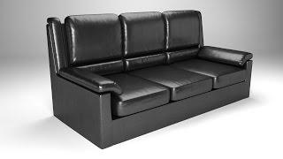 getlinkyoutube.com-Моделирование кожаного дивана в Blender