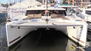 getlinkyoutube.com-2015 Fountaine Pajot Saba 50 Catamaran - Walkaround - 2015 Annapolis Sail Boat Show