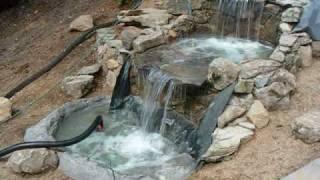 getlinkyoutube.com-construccion de una cascada - fuente - waterfall.