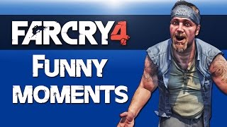 getlinkyoutube.com-Far Cry 4 Co-op Funny Moments Ep. 3 ( C4 Trolling, Suicide Elephant, Gyro-copter Swinging!)