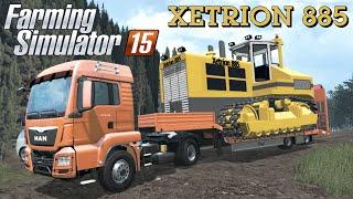 getlinkyoutube.com-Farming Simulator 2015 mod XETRION 885 TRACKED TRACTORS