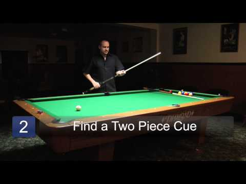 Tips on Selecting the Best Pool Cue : Billiards Lessons
