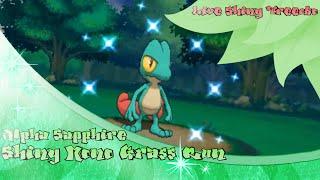 getlinkyoutube.com-[Live] Shiny Treecko at 5773 SRs Pokemon | Alpha Sapphire Shiny Grass Run