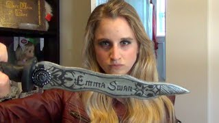 getlinkyoutube.com-Emma Swan Dagger Once Upon A Time, DIY Cosplay