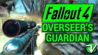 getlinkyoutube.com-FALLOUT 4: How To Get OVERSEER'S GUARDIAN Sniper Rifle! (Unique Weapon Guide)