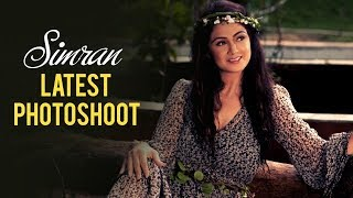 getlinkyoutube.com-Simran Latest Photo shoot 2015 | Behind The Scenes | Exclusive | Simran Bagga