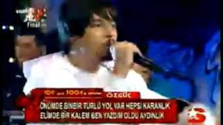getlinkyoutube.com-Rapstar Özgüç FULL PERFORMANS - FiNAL