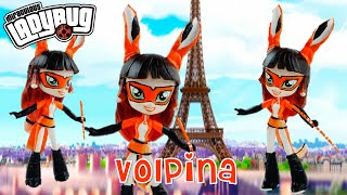 getlinkyoutube.com-VOLPINA Miraculous Ladybug & Cat Noir Villain Custom Doll Tutorial