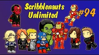 getlinkyoutube.com-Scribblenauts Unlimited 94 Avengers Age of Ultron in Object Editor