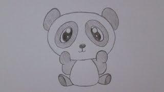 getlinkyoutube.com-How to draw a panda bear
