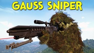 getlinkyoutube.com-THE GAUSS SNIPER! - Arma 3: DayZ Tanoa - Ep.2