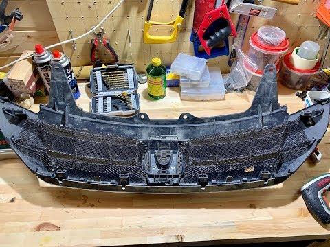 Сетка в бампер и решетку радиатора Honda CR-V 4