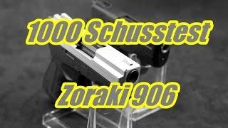 getlinkyoutube.com-1000 Schusstest mit der Zoraki 906 / 2906
