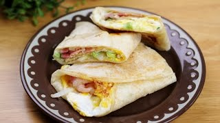 getlinkyoutube.com-백종원 또띠아 토스트 만들기 Tortilla Toast