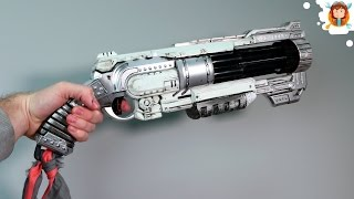 getlinkyoutube.com-How to Paint a Nerf Gun (Doomlands Vagabond)