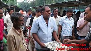 getlinkyoutube.com-Fish Market of Bangladesh, Sold by Bidding Process @ BengaliFood64