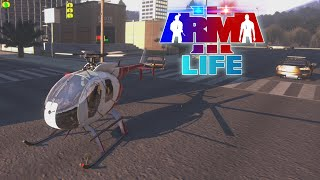 getlinkyoutube.com-ARMA 3 Life - Bank Robbery Helicopter Extraction