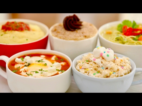 Microwave Mug Meals Worldwide (Mug Churro, Calzone, Rice Krispie Treat & More!) Bigger Bolder Baking