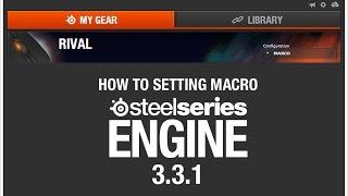 getlinkyoutube.com-Review วิธีการใช้งาน SteelSeries Engine 3.3.1