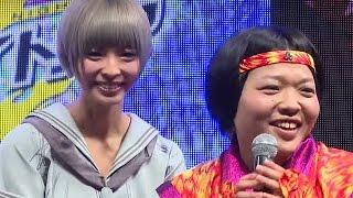getlinkyoutube.com-おかずクラブ・オカリナ、でんぱ組・最上もがに「似てるって言われる」「東京ゲームショウ2015」フジアンドグミゲームズ #Moga Mogami #Japanese Idol
