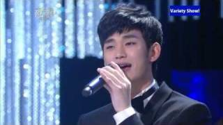 getlinkyoutube.com-Kim Soo Hyun's Performance @K.B.$ Award