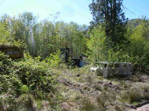 Property Full of Abandoned Logging Equipment
