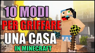 getlinkyoutube.com-10 MODI PER GRIFFARE UNA CASA IN MINECRAFT!!