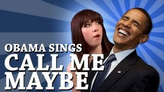 getlinkyoutube.com-Barack Obama Singing Call Me Maybe by Carly Rae Jepsen