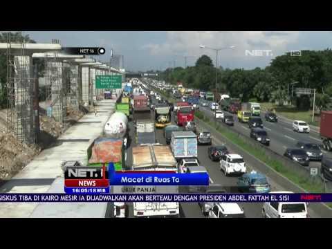Macet di Ruas Tol Jakarta - Cikampek - NET16