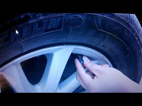 Датчик давления шин на колесо
