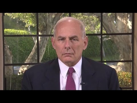 Kelly: Trump to insist on border wall funding