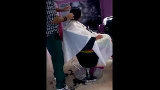 getlinkyoutube.com-Short Bob Haircut for first time