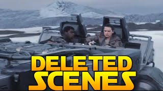 "getlinkyoutube.com-Star Wars The Force Awakens: All Deleted Scenes Review! ""Supreme Leader Smoke?"""