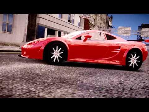 GTA 4 Ascari KZ1 directed by SanCheZ for GTA.COM.UA (GTAIV)