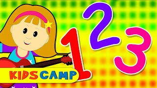 Numbers Song   Learn To Count from 1 to 10   Nursery Rhymes Collection for Children by KidsCamp
