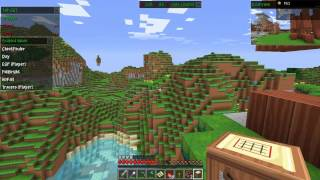 getlinkyoutube.com-Minecraft Griefing Fully Unprotected Server With Tools !