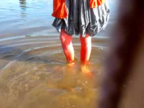 Walking in Allier River at Springtime (Wetlook)