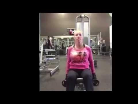 Natasha Kizmet Workout - Dumbell - Front Raises